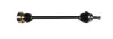 Dünne&kurze Antriebswelle mit 90er Flansch Beifahrerseite ohne Plusachse