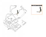 Halter für Schwerkraftventil - Tankentlüftung