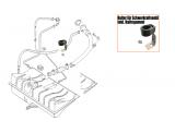Halter für Schwerkraftventil - Tankentlüftung inkl. Haltegummi