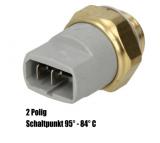 Thermoschalter 2-polig für Lüftermotor - Schaltpunkt 95-84°C