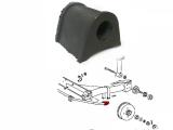Gummilager für Stabilisator hinten/ außen