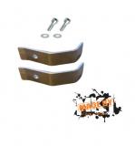 Kühlerhalter Set aus Aluminium