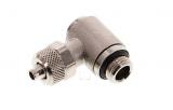 Winkel-Verschraubung G 1/8-6x4mm Adapter von Stahlflex auf Luftschlauch