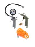 Reifenfüller Druckluftset inkl. Anschlusskupplung für Lufttank