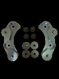 Bremssatteladapter G60 in Verbindung mit S2 Bremssätteln