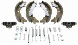Bremsbackensatz inkl. Radbremszylinder für 180mm Bremstrommel