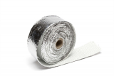 Hitzeschutzband / Auspuffband Alu beschichtet /je Rolle 10m x 50mm x 0,8mm