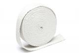 Hitzeschutzband / Auspuffband weiss keramik /je Rolle 10m x 50mm x 0,8mm
